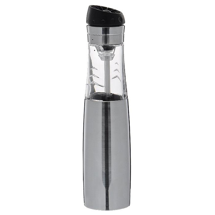 Мельница для перца и соли Buzz Revolution, цвет: серебристыйH920820Электронная мельница для соли и перца Buzz Revolution позволяет солить и перчить одновременно - это превосходное партнерство. Мельница выполнена из пластика и металла. В верхней части мельницы имеется кнопка включения-выключения. Мельница легка в использовании. Оригинальная мельница модного дизайна будет отлично смотреться на вашей кухне. Характеристики: Материал: металл, пластик. Размер мельницы: 23 см х 5,5 см х 5 см. Размер упаковки: 8,5 см х 8,5 см х 23 см. Размер упаковки: 8,5 см х 8,5 см х 23 см. Изготовитель: Великобритания. Артикул: H920820. Необходимо докупить 4 батареи напряжением 1,5V типа ААА (не входят в комплект).