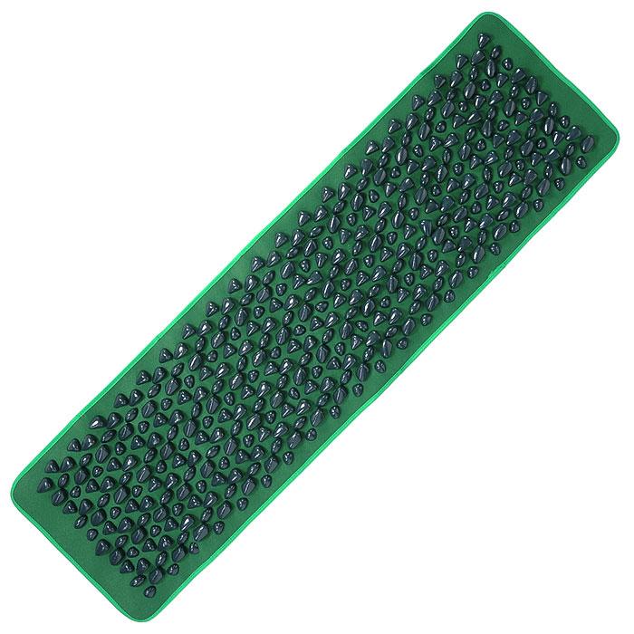 Дорожка Bradex Морской берег, массажная, цвет: зеленыйKZ 0011Массажная дорожка Bradex Морской берег с камнями является отличным средством профилактики плоскостопия, рефлексотерапии и расслабления. Достаточно в течение недолгого времени походить или полежать на массажной дорожке, и вы почувствуете приятное расслабление в мышцах. Используя Морской берег, вы получите превосходный массаж ступней или спины, а оригинальный дизайн дорожки, ассоциирующийся с прекрасными морскими пейзажами, подарит ощущение внутренней гармонии и безмятежности. Характеристики: Материал: ПВХ, нейлон. Размер дорожки: 140 см х 40 см. Количество камней: 400 шт. Размер упаковки: 41 см х 27 см х 9 см. Артикул: KZ0011. Производитель: Китай.