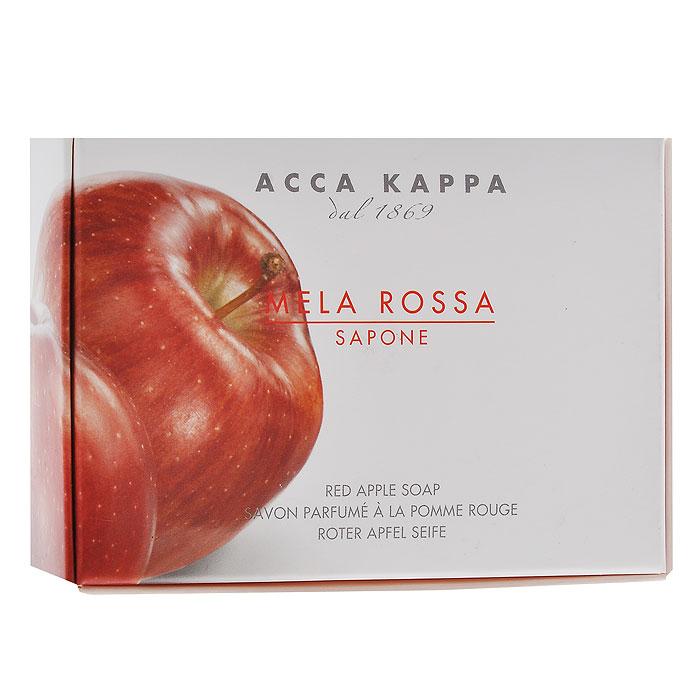 Acca Kappa Мыло туалетное Красное Яблоко, 150 г853373Растительное мыло Красное яблоко деликатно очищает кожу. Идеально подходит для всех типов кожи. Растительные компоненты получены из кокосового и пальмового масла, прекрасно очищают и увлажняют кожу. Характеристики: Вес: 150 г. Производитель: Италия. Артикул: 853373. Товар сертифицирован.