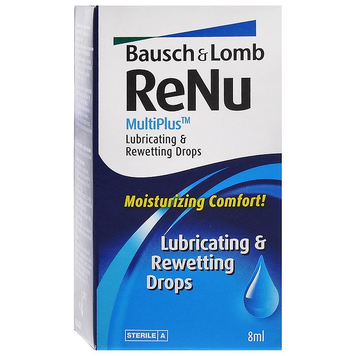 ReNu Капли для глаз MultiPlus, 8 мл07194Капли ReNu MultiPlus разработаны компанией Bausсh&Lomb, для создания дополнительного комфорта и удобства при ношении. Это увлажняюще-смазывающие капли, которые еще и дезинфицируют ваши линзы. Капли можно использовать как новичкам (для адаптации), так и уже людям использующим контактные линзы долгое время. При использовании линз в помещениях с пониженной влажностью или пыльном помещении - это просто незаменимое средство. Так же не обойтись без него и пациентам со сниженным слезовыделением.