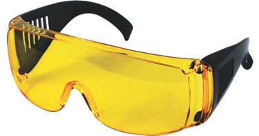 Очки защитные КонтрФорс, цвет: желтый040100Очки защитные КонтрФорс предназначены для защиты органов зрения от попадания твердых частиц и брызг во время проведения строительных и ремонтных работ.