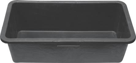 Кювета пластиковая FIT, 40 л04095Используется для перемешивания строительных растворов и смесей.