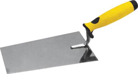 Мастерок каменщика FIT, трапеция, 180 мм. 0507705077Мастерок каменщика FIT используется для размешивания и нанесения строительных растворов.