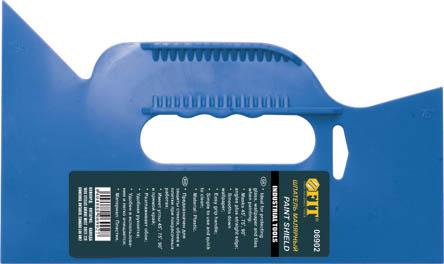 Шпатель прижимной обойный FIT 06902, пластиковый06902Прижимной обойный шпатель FIT предназначен для прижима и разглаживания обоев в процессе наклейки, а так же для защиты стекла, обоев и плитки при покрасочных работах.