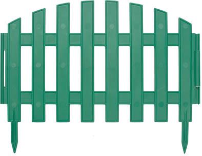 Забор декоративный Калита, 3 м, цвет: зеленый