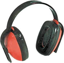 Наушники противошумные FIT, цвет: черный, красный. 12101