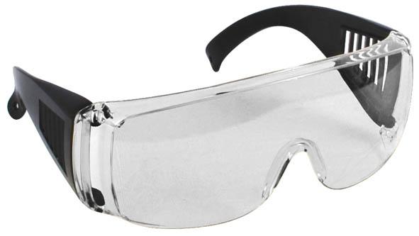 Очки защитные FIT, цвет: прозрачный12219Очки защитные FIT предназначены для защиты глаз от пыли, окалины, краски, стружки при проведении различных работ.