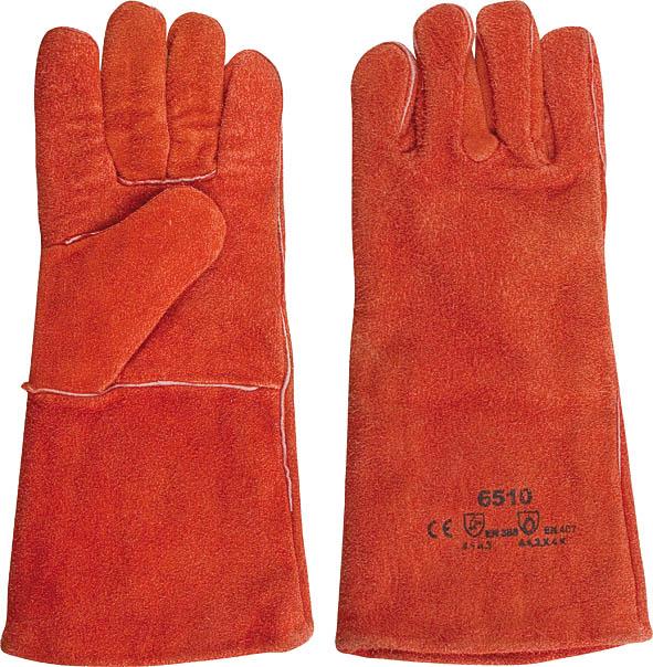 Краги сварщика спилковые пятипалые утепленные, цвет: красный, 10,512455Краги сварщика спилковые пятипалые утепленные обеспечивают максимальную защиту от механических повреждений, а также от капель расплавленного металла. Рекомендованы для тяжелых работ со значительными механическими нагрузками и для сварочных работ в холодное время года.