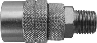 Адаптер на шланг FIT, М1381114Адаптер на шланг FIT с американским типом запорного клапана. Предназначен для соединения с пневматической линией, инструментом, компрессором. Характеристики: Материал: сталь. Резьба: М13. Шаг резьбы: 1,5 мм. Под ключ: S = 17. Размер: 2,5 см х 2,5 см х 5,5 см. Размер упаковки: 7 см х 3 см х 12 см.