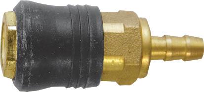 Адаптер быстросъемный FIT с прямым подключением шланга81155Адаптер быстросъемный с запорным клапаном FIT универсального типа предназначен для прямого подключения шланга. Совместим с ниппелями всех типов.