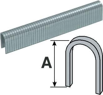 Скобы для степлера Fit, круглые, 10 мм, 500 шт. 3122031220Металлические скобы круглые для степлера Fit с заточенными концами обеспечивают быстрое и надежное скрепление нужной толщины материала.