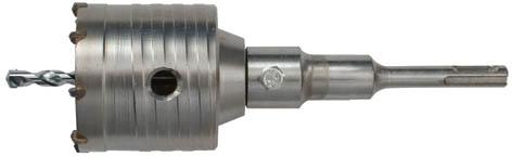 Коронка кольцевая по бетону FIT, 33 мм33441Кольцевая коронка FIT используется с перфоратором. Предназначена для высверливания отверстий в бетонных, кирпичных и каменных стенах. Выполнена из хром-молибденовой стали, имеет твердосплавные резцы. Все это гарантирует долгосрочную службу инструмента.