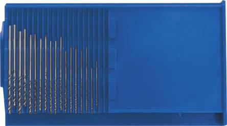 Набор сверл по металлу FIT, 0,3-1,6 мм, 20 шт36360Набор сверл по металлу FIT предназначены для выполнения сквозных и глухих отверстий в легированной и нелегированной стали, сером чугуне, металлокерамическом сплаве на основе железа, ковком чугуне, цветном металле. Оснастка имеет цилиндрический хвостовик. Работает в правом направлении.