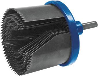 Пила круговая с каленым зубом Fit Профи 2, 26 - 63 мм36726Пила круговая с каленым зубом Fit Профи используется с дрелями для сверления отверстий в твердой древесине, фанере, ДСП и гипсокартоне. Диаметры лезвий пил: 26, 32, 38, 45, 50, 56, 63 мм. Пилы изготовлены из термообработанной инструментальной стали. Усиленный адаптер обеспечивает надежное удержание оснастки в патроне дрели. В комплекте 7 штук, поставляются в блистере.