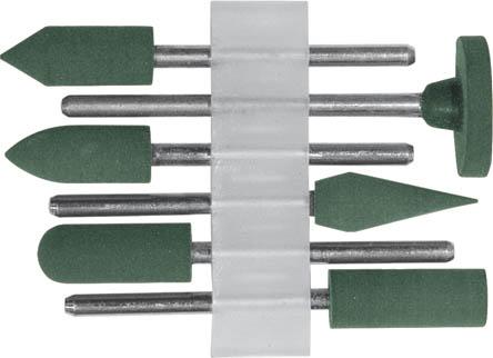 Шарошки по камню FIT, 6 шт36923Шарошки по камню FIT предназначены для шлифования и полирования кафельной плитки, стекла, мрамора. Используются с гравировальной машинкой.