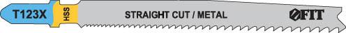 Пилки для электролобзика FIT, 2 шт. 40978