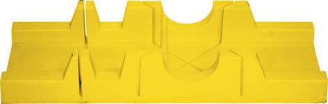 Стусло пластиковое FIT, 30 cм х 6,5 см41250Стусло пластиковое FIT используется для распила заготовок под углами 45°, 90°, 135° и шириной до 6,5 см.
