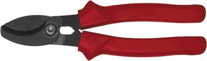 Кабелерез FIT Профи, 200 мм41842Кабелерез FIT используется для работы под напряжением с алюминиевыми и медными проводами диаметром до 16 мм. Эргономичные рукоятки покрыты мягкой термопластической резиной.