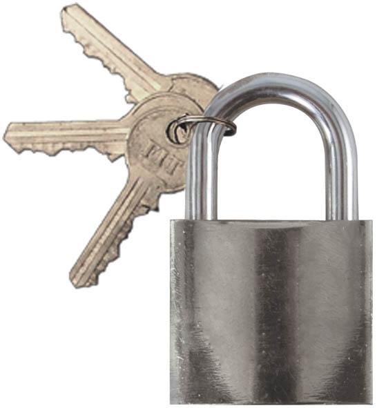 Замок навесной FIT, 25 мм. 6712167121Навесной замок FIT является наиболее простым в применении инструментом защиты небольших ящиков, шкафов. Оснащен механизмом запирания и дужкой, которые имеют высокую степень защиты и прочности. Корпус изготовлен из инструментальной, имеющей специальное покрытие для увеличения срока службы замка.
