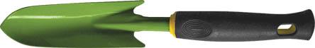 Совок посадочный FIT узкий, 360 мм. 7702177021Посадочный совок FIT обладает облегченной конструкцией и ярким дизайном. Полотно изготовлено из углеродистой стали с напылением из ПВХ, что обеспечивает высокую прочность и долговечность данного инструмента. При помощи этого совка легко пересаживать комнатные или садовые растения.