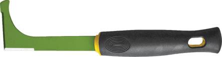Нож садовый FIT, 290 мм77027Нож садовый FIT подойдет для прививания, подрезания, подравнивания и других действий с кустарниками и деревьями. Изогнутое лезвие облегчает работу на срезах, особенно толстых, не повреждая растение. Нож очень удобен при вырезке шипов, обрезке ветвей и корневой системы при посадке растений.