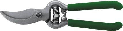Секатор садовый FIT, 200 мм. 7708577085Садовый секатор FIT, с лезвиями внахлест предназначен для подравнивания и формирования крон деревьев. Подойдет также для обрезки сухих веток в саду или на дачном участке. Лезвие изготовлено из прочной инструментальной стали, поэтому инструмент при правильной эксплуатации прослужит долгое время. Характеристики: Материал: сталь, ПВХ. Размер секатора: 20 см x 5 см x 1,5 см. Размер упаковки: 26 см x 8 см x 2 см.