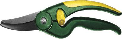 Секатор садовый FIT, 220 мм. 7709577095Садовый секатор FIT предназначен для ухода за кроной кустарников. Округлая форма лезвия обеспечит аккуратный и ровный срез без вреда для дерева. Удобная противоскользящая рукоятка обеспечит комфортную работу инструментом. Характеристики: Материал: сталь, пластик, нейлон. Размеры секатора: 21,5 см x 5,5 см x 2 см. Размер упаковки: 25,5 см х 10,5 см х 2,5 см.