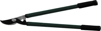 Сучкорез для тонких веток FIT, телескопические ручки, цвет: черный, зеленый, 945 мм77118Сучкорез для тонких веток FIT применяется для придания формы кроне кустарников и деревьев. Телескопические рукоятки оснащены резиновыми накладками, что делает работу удобнее. Лезвия сучкореза изготовлены из инструментальной стали с тефлоновым покрытием, хорошо заточены и закалены.