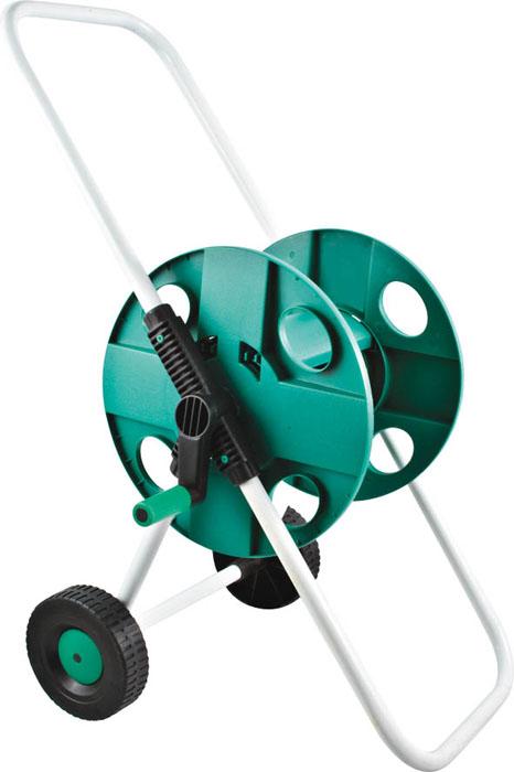 Катушка FIT для шланга 1/2, большая77276Простота в использовании, удобство в хранении и при транспортировке шлангов (до 45 м при диаметре 1/2 и до 30 м при диаметре 3/4). Шланг подсоединяется к корпосу катушки под углом, что позволяет избежать его перегибания и скручивания. Устойчивая конструкция с удобной рукояткой и колесами собираются без использования инструментов. Катушка имеет пластиковый корпус и металлический каркас. С помощью специальной ручки шланг легко наматывается, не загибаясь и не перекручиваясь. Благодаря колесам катушку со шлангом можно без труда перемещать на необходимые расстояния. Надежная и устойчивая конструкция обеспечивает долгий срок службы приспособления. Характеристики: Материал: каркас из стальных труб, пластиковый барабан. Размер упаковки: 32 см х 41 см х 9 см.