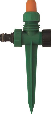 Распылитель пластиковый на пике FIT, цвет: зеленый, черный, оранжевый. 77340