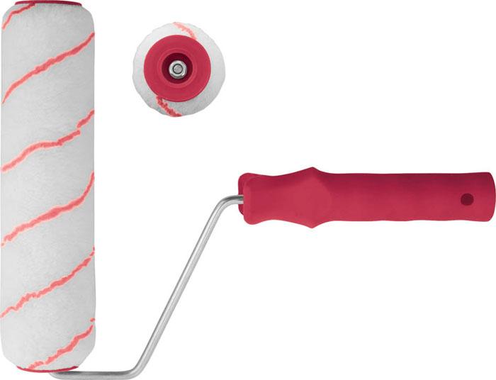 Валик полиакриловый КонтрФорс, 11 х 100 мм02523Валик КонтрФорс применяется для работ с водоэмульсионными, масляными и акриловыми красками, эмалями и грунтовками. Данным инструментом возможно нанесение лакокрасочных материалов на потолок, стены и металлоконструкции различной степени шероховатости.