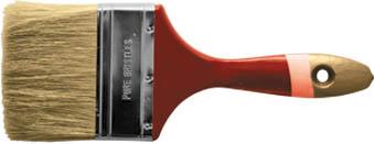 Кисть флейцевая Классик из натуральной щетины, 50 мм01095Флейцевая кисть Классик из натуральной щетины с деревянной ручкой, предназначена для работ со всеми видами лакокрасочных материалов.