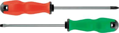 Отвертка Camel, 80 мм. 5541555415Отвертка Camel отличный ручной инструмент для закручивания и завинчивания шурупов, винтов и т.д. Рабочая часть данной отвертки изготовлена из хром - ванадиевой стали, отполирована и закалена. Отвертка исключает проскальзывание в руке благодаря эргономичной рукоятки.
