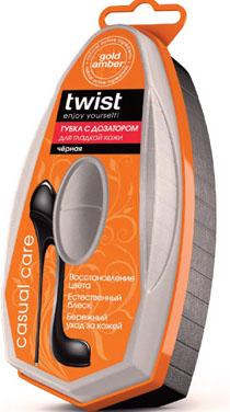 Губка для гладкой кожи с дозатором Twist