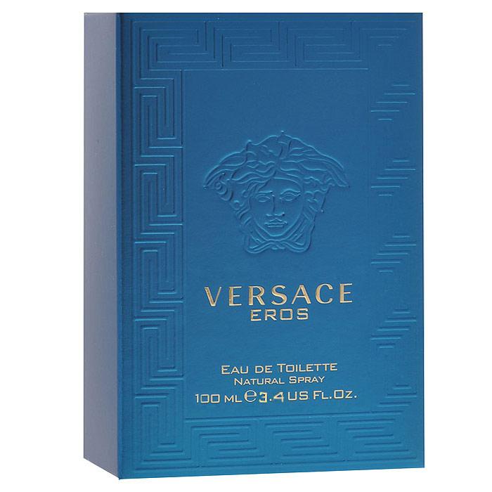 Versace Туалетная вода Eros, 100 мл740010Любовь, страсть, красота и желание - таковы ключевые элементы концепции нового мужского аромата Versace Eros. Совершенство мужского тела воплощает идеалы греческой мифологии и классической скульптуры, чья атмосфера сопровождает стиль Дома Versace с момента его основания. Он - Эрос, бог любви, вооруженный луком и стрелами, способный заставить человека полюбить. Versace Eros - аромат для сильного, страстного и уверенного в себе мужчины. Верхние ноты: Мята, Итальянский лимон, Зеленое яблоко; Средние ноты: Бобы Тонка, Цветы герани, Амброксан (амбра); Базовые ноты: Ваниль, Ветивер, Дубовый мох, Атласский кедр, Виргинский кедр