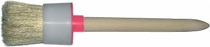 Кисть круглая с деревянной ручкой Fit, 60 мм