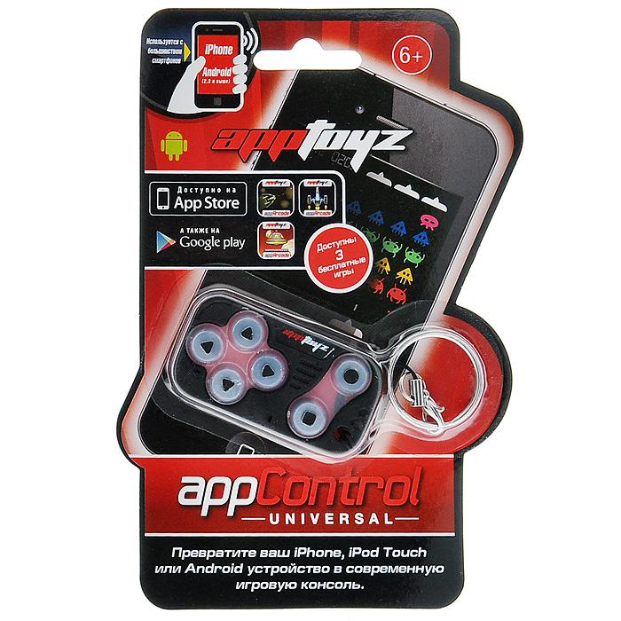 Джойстик App Control4610011071201ИграйДжойстик App Control выполнен из мягкого материала с приятными на ощупь кнопками. Благодаря клеящим свойствам, он легко крепится к экрану смартфона. Для игры необходимо открыть бесплатное приложение appControl и выбрать одну из трех замечательных игр. Просто приклейте контроллер к экрану вашего телефона и запускайте игру! В данный момент доступны 3 великолепные игрушки для appControl - это Invaderz, Appteroidz и Mission Control. К контроллеру прикреплено кольцо, таким образом, вы можете брать его куда угодно. Устройства, протестированные на совместимость: iOS:iPhone 3GS, iPhone 4, iPhone 4S, iPhone 5, Touch 4,Touch 5, iPad 1,iPad 2, iPad 3 Android: Sony Experia Play, HTC Desire S, HTC Sensation XE, Samsung Galaxy S3, Samsung Galaxy S2, LG Optimus V