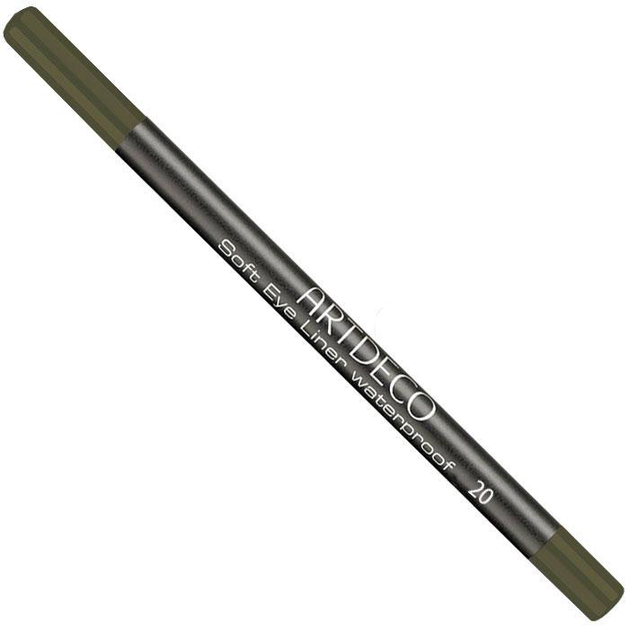 Artdeco Карандаш для век водостойкий Soft Eye Liner Waterproof, тон №20, 1,2 г221.20Мягкий водостойкий карандаш для век Artdeco Soft Eye Liner Waterproof - экстремально стойкий карандаш с мягкой комфортной текстурой и антиоксидантными компонентами в составе формулы. Не имеет отдушки и подходит людям с чувствительными глазами.