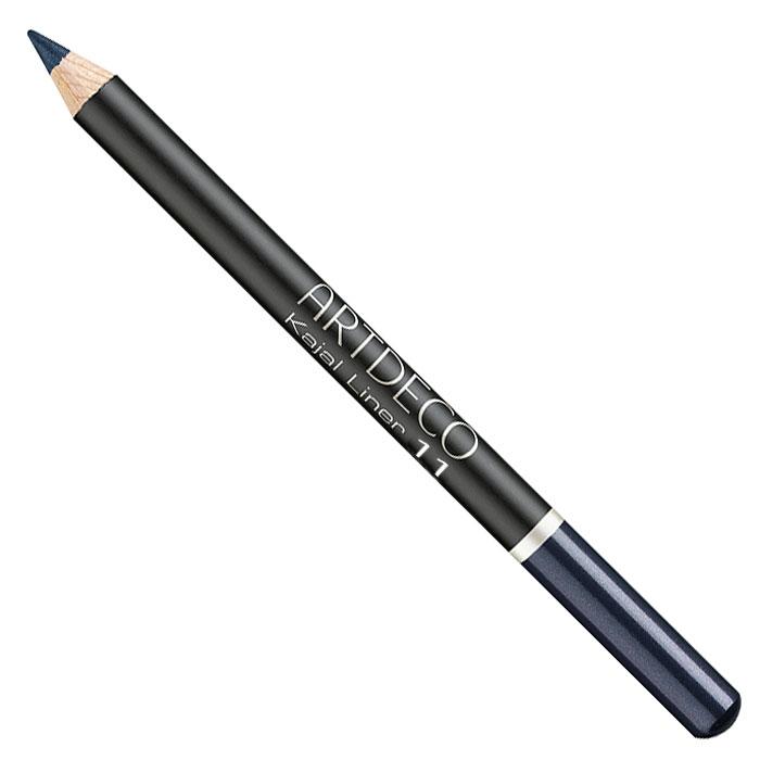 Artdeco Карандаш для век Kajal Liner, тон №11, 1,1 г22.11Классический контурный карандаш Artdeco Kajal Liner на основе натуральных японских восков можно использовать как на внутреннем, так и на внешнем контуре век. Мягкая текстура легко наносится и удерживается в течение всего дня. Подходит для людей с чувствительными глазами и людей, носящих контактные линзы. Формула содержит увлажнители и коктейль из витаминов и натуральных масел. Профессиональные советы: чтобы точно очертить контур глаз, наносите контурный карандаш не одним движением, а отдельными штрихами по направлению от внутреннего угла глаза к внешнему.