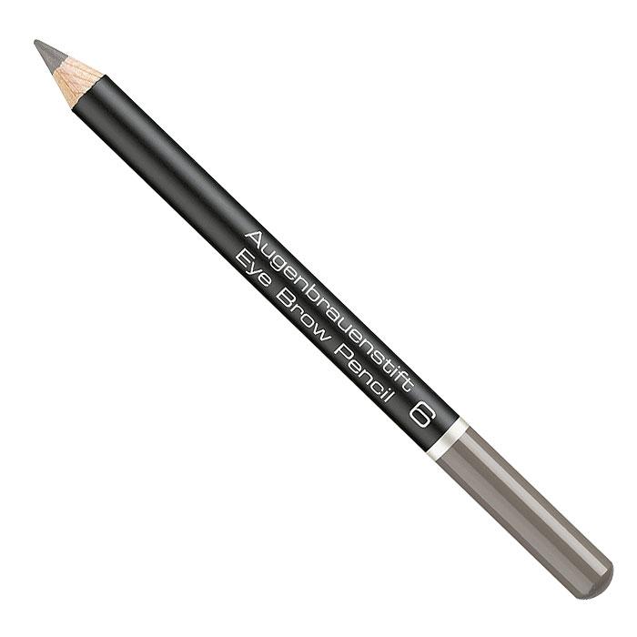 Artdeco Карандаш для бровей Eye Brow Pencil, тон №6, 1,1 г280.6Карандаш для бровей Artdeco Eye Brow Pencil помогает придать законченность макияжу, сделать лицо более выразительным. Сбалансированная формула, содержащая экстракт пальмовых косточек придает текстуре необходимую эластичность. Грифель карандаша имеет среднюю жесткость, и позволяет контролировать нанесение и интенсивность линий. Характеристики: Вес: 1,1 г. Тон: №6. Производитель: Германия. Артикул: 280.6. Товар сертифицирован.