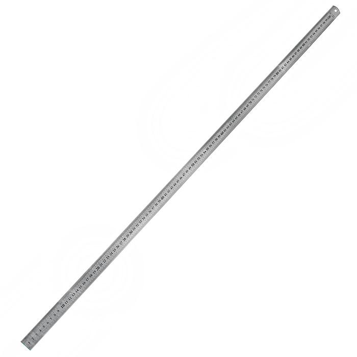 Линейка металлическая Topex, плоская, 100 см31C100Линейка металлическая Торех плоская предназначена для измерения и разметки линейных размеров. С ее помощью легко определить длину, ширину и отмерить необходимое расстояние.