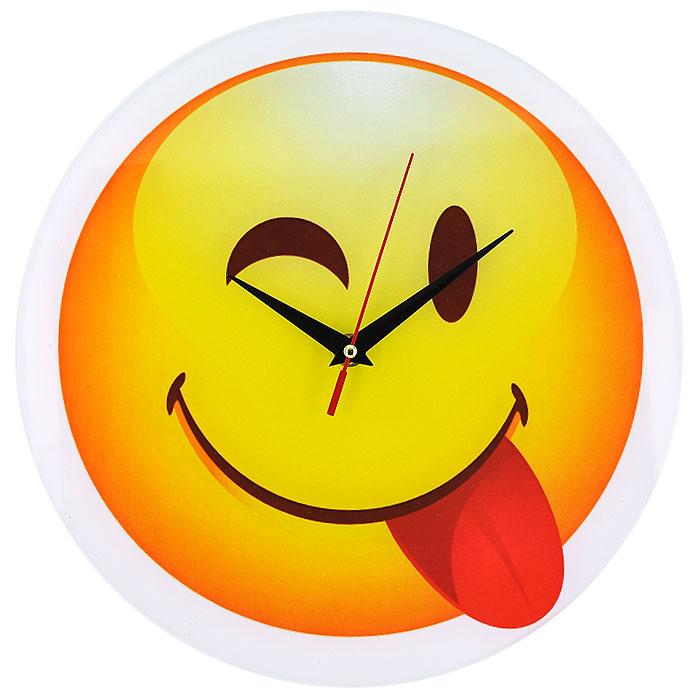 """Часы настенные """"Смайл"""", кварцевые. 94401"""
