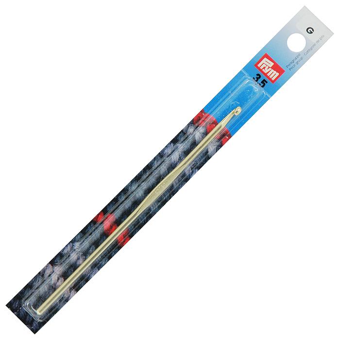 Крючок для ручного вязания Prym, с направляющей площадью № 3,5195184Крючок для ручного вязания Prym с направляющей площадью выполнен из алюминия серебристого цвета. Крючок предназначен для ручного вязания тонкой пряжей.