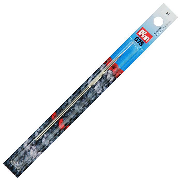 Крючок для ручного вязания Prym Irma, с направляющей площадью № 0,75175849Крючок для ручного вязания Prym Irma с направляющей площадью выполнен из стали серебристого цвета. Крючок предназначен для ручного вязания тонкой пряжей.