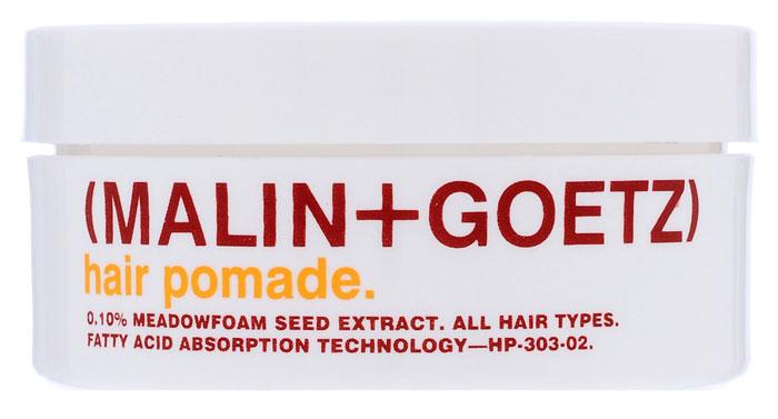 Malin+Goetz Помада для укладки волос, 57 гMG048Естественная сильная фиксация и уход за волосами для создания матового эффекта укладки, без утяжеления волос и раздражения кожи головы. Натуральные растительные ингредиенты из семян пенника лугового, конопли и соевых бобов в сочетании с нашими фирменными жирными кислотами создают натуральный блеск, форму и текстуру волос. Идеально подходит для всех типов волос и кожи головы, в том числе окрашенных и химически обработанных волос. Не содержит парабены. Характеристики: Вес: 57 г. Производитель: США. Товар сертифицирован.