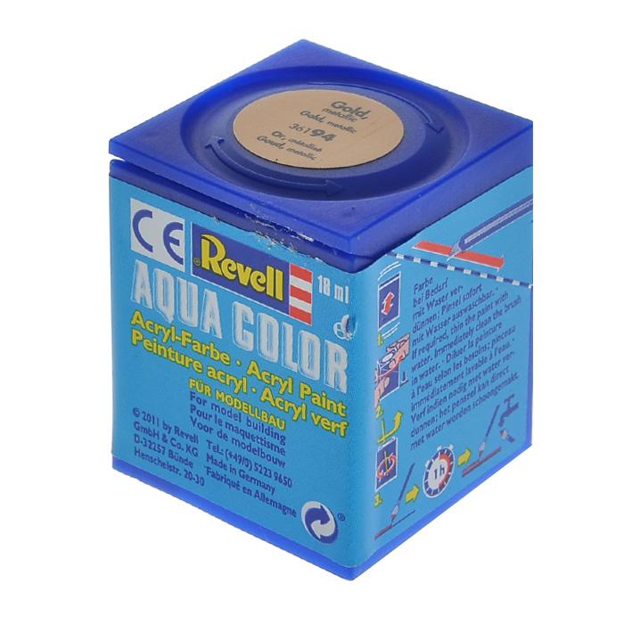 Revell Аква-краска цвет золотистый металлик 18 мл36194Эмалевая аква-краска для моделей Revell цвета золотистый металлик, служит для окрашивания пластиковых поверхностей сборных моделей. В случае необходимости, различные оттенки эмали могут быть смешаны друг с другом, для разбавления используется Revell Color Mix. Краска упакована в экономичную пластиковую коробочку, что позволяет экономично ее расходовать, а после использования коробочку можно закрыть крышкой, чтобы избежать высыхания.