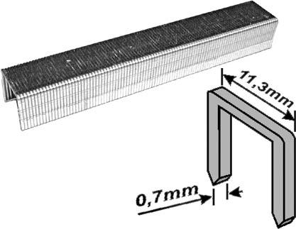 Скобы для степлера Fit, тип 53, 12 мм, 1000 шт. 31332