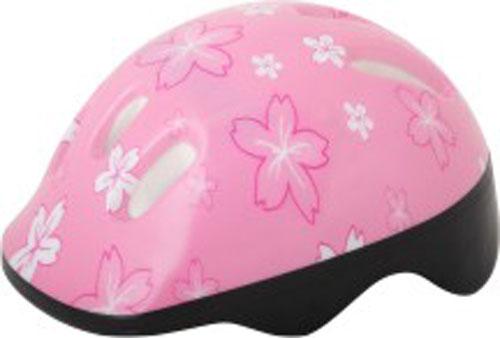 Шлем защитный Action, цвет: розовый. Размер XS (48/51)PWH-1Шлем Action послужит отличной защитой для ребенка во время катания на роликах или велосипеде. Он выполнен из плотного вспененного пенопласта, покрытого пластиковой пленкой и отлично сидит на голове, благодаря мягким вставкам на внутренней стороне. Шлем снабжен системой вентиляции и крепится при помощи удобного регулируемого ремня с пластиковым карабином, застегивающимся на подбородке. Оформлен он изображениями цветов. Характеристики: Материал: пластик, пенопласт, текстиль, поролон. Обхват шлема: 48-51 см. Размер шлема: 25 см х 19 см х 13 см. Размер упаковки: 26 см х 20 см х 13 см. Артикул: PWH-1.