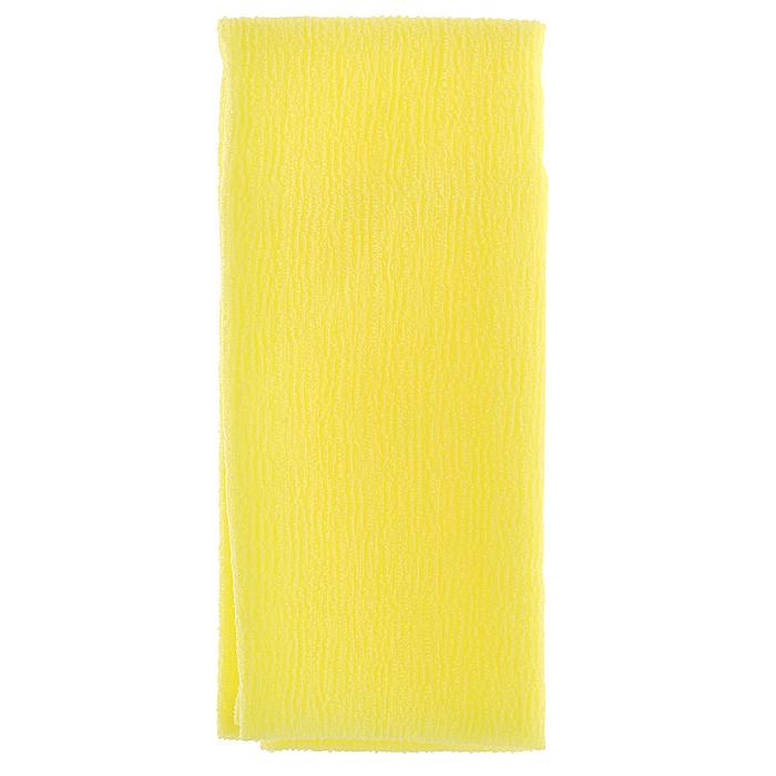 Marna Мочалка Water Color, цвет: желтыйB438YМочалка Water Color, выполненная из нейлона желтого цвета, оказывает массирующее воздействие на кожу: стимулирует циркуляцию крови, очищает поры, способствует обмену веществ, происходящему в клетках кожи. Благодаря уникальному переплетению нитей мочалка быстро образует пену при минимальном количестве мыла. Быстро сохнет. Идеальна для поездок и путешествий - легкий вес и форма мочалки позволяет ей легко разместиться в любом багаже. Характеристики: Материал: 100% нейлон. Цвет: желтый. Размер мочалки: 27 см х 105 см. Артикул: B438Y. Товар сертифицирован.