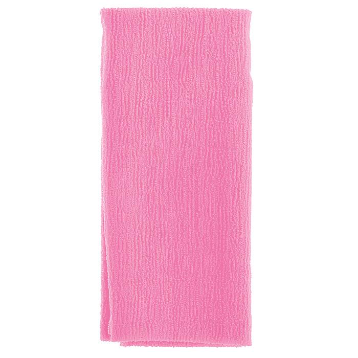 Marna Мочалка Water Color, цвет: розовыйB438PМочалка Water Color, выполненная из нейлона розового цвета, оказывает массирующее воздействие на кожу: стимулирует циркуляцию крови, очищает поры, способствует обмену веществ, происходящему в клетках кожи. Благодаря уникальному переплетению нитей мочалка быстро образует пену при минимальном количестве мыла. Быстро сохнет. Идеальна для поездок и путешествий - легкий вес и форма мочалки позволяет ей легко разместиться в любом багаже. Характеристики: Материал: 100% нейлон. Цвет: розовый. Размер мочалки: 27 см х 105 см. Артикул: B438P. Товар сертифицирован.